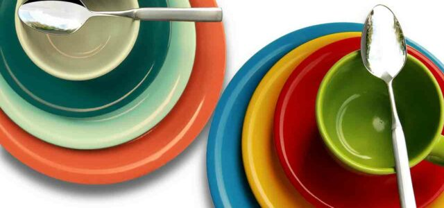 Melamine dishes dinnerware and plates