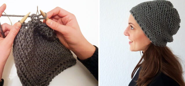 how to knit a hat teaser