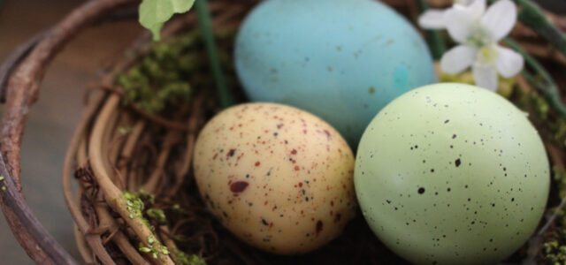 Natural Easter egg dye recipe from scratch colored eggs