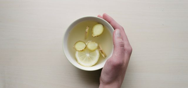 Ginger water recipe cup tea