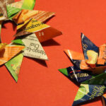 easy Step-by-step guide on how to make paper christmas stars